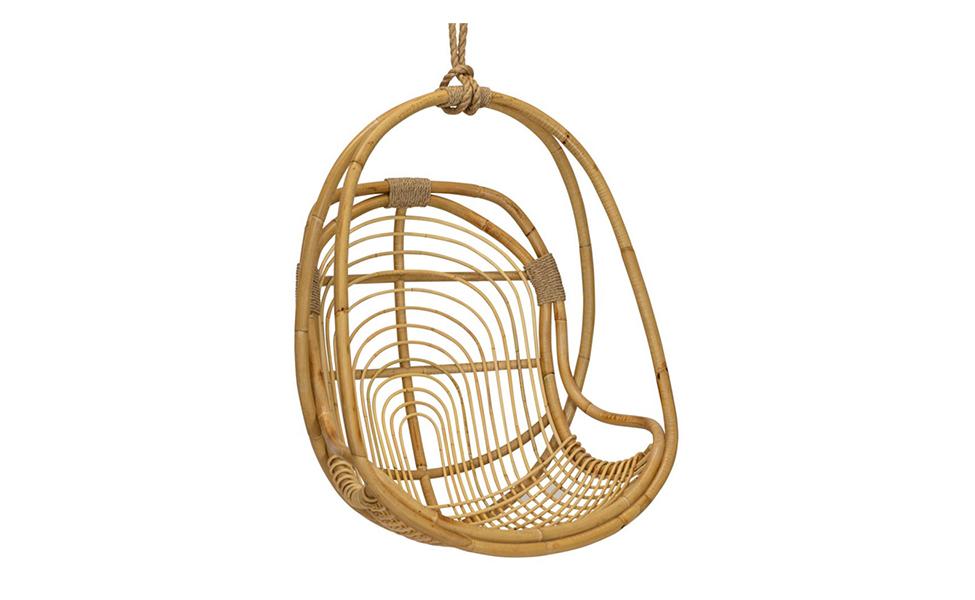 San Blas Hanging Chair In Natural Verde Home